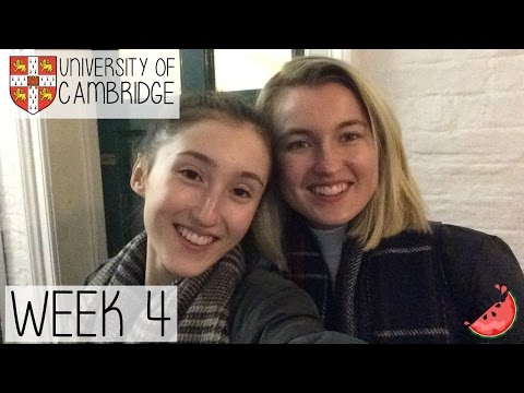 WEEK 4 AT CAMBRIDGE UNIVERSITY | FAMILY VISITS, VEGAN DINING, MEAL PREP + MORE WORK