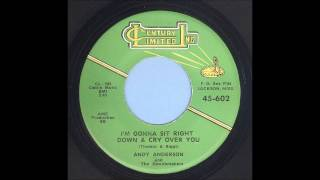 Andy Anderson - I'm Gonna Sit Right Down & Cry Over You - Rockabilly 45