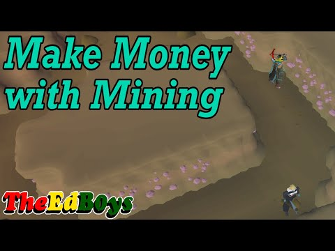 OSRS Make Money With Mining | Mining Money Making Guide