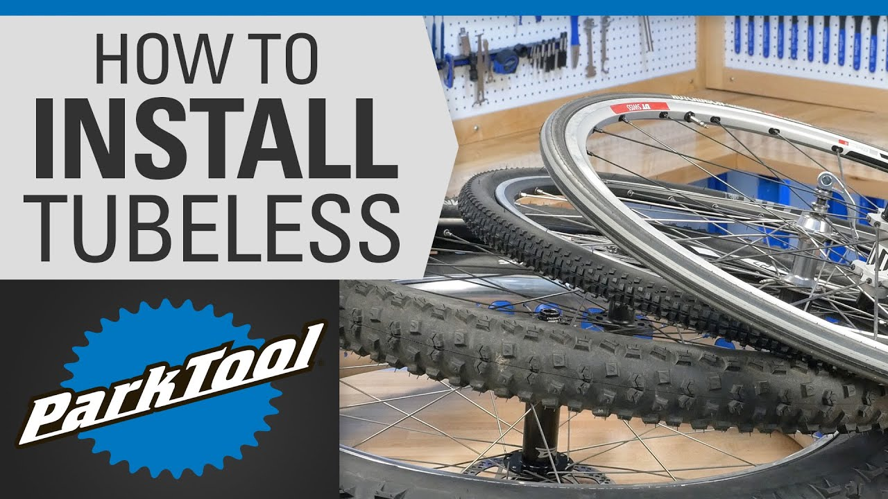 How To Install Tubeless Tires Youtube