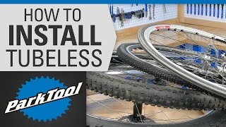 How to Install Tubęless Tires