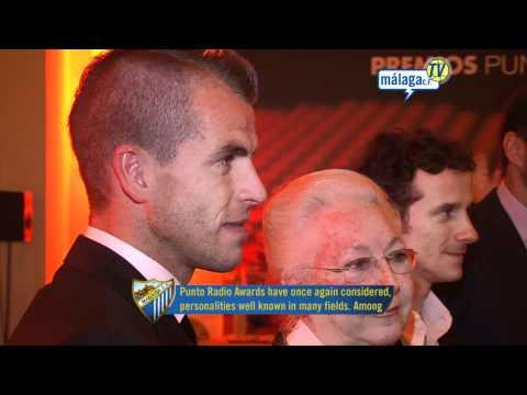 Málaga Club de Fútbol TV. Miércoles 01/12/10. Duda, premiado por Punto Radio