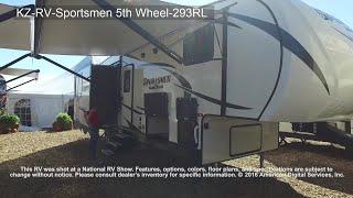 KZ-RV-Sportsmen 5th Wheel-293RL