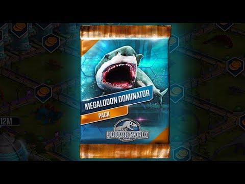 MEGALODON DOMINATOR Pack - Jurassic World The Game