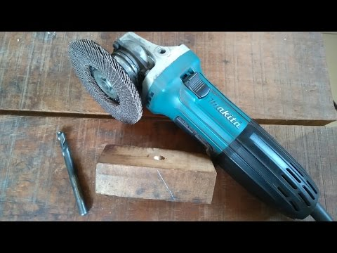 Blacksmithing - very simple way I sharpen metal drills (bits)