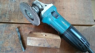 Repeat youtube video Blacksmithing - very simple way I sharpen metal drills (bits)