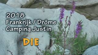 2018 Camping Justin - Die - Drôme - Frankrijk