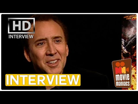 Ghost Rider 2 | Nicolas Cage EXCLUSIVE interview (2012)