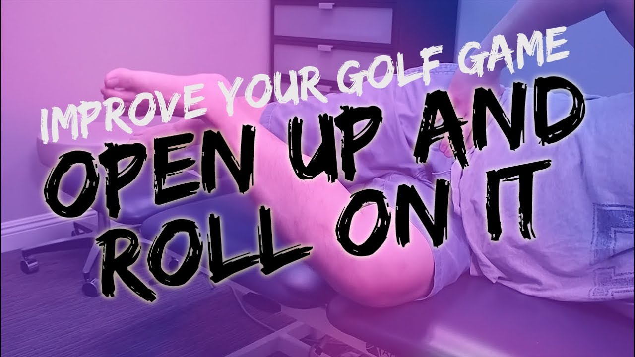 One Simple Exercise For Hip Rotation   Improve Your Golf Swing NOW