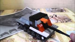 обзор лего танка су-85 tigr2014