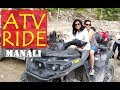 So Much Fun ATV Bike Ride In Solang Valley, Manali Himachal Pradesh | Zipline | Limetrails