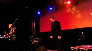 BLIXA BARGELD & TEHO TEARDO live Prague 28.9.2013 part.1