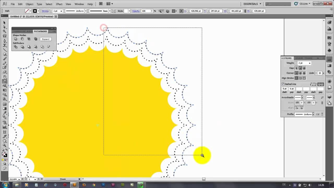 Как в иллюстраторе сделать 134