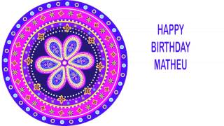 Matheu   Indian Designs - Happy Birthday