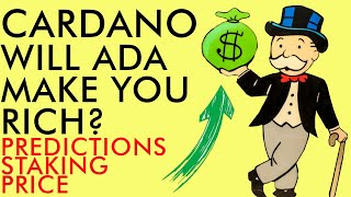 CAN CARDANO MAKE YOU RICH? Staking Rewards & Price Predictions | Crypto News 2020