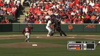 Clemson Baseball // South Carolina Game Highlights - 3/6/16