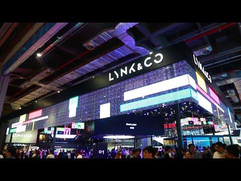 YIPLED | Shanghai International Auto Show LYNK & CO transparent LED screen