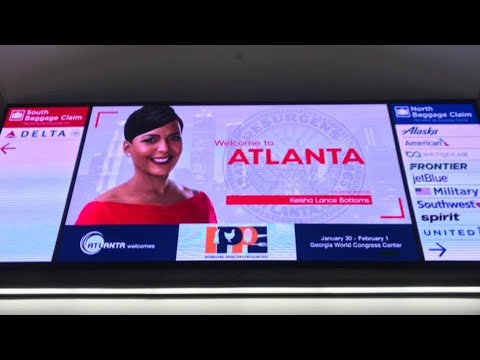 Keisha Lance Bottoms airport welcome