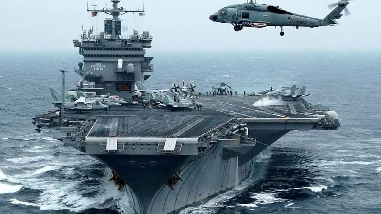 Top 10 Biggest Aircraft Carriers in the World - YouTube