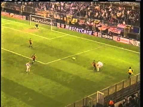 2000 (October 24) Anderlecht (Belgium) 2-Manchester United (England) 1 (Champions League)