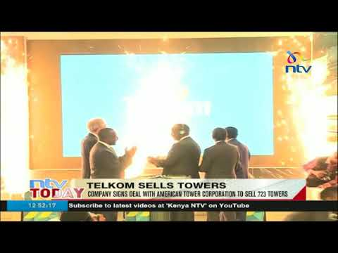 Telkom signs deal with American Tower Corporation to sell 723 towers