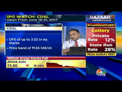 CDSL IPO Opens Today