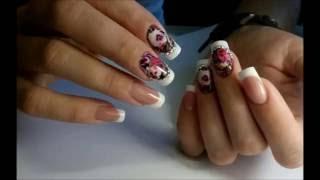 Дизайн ногтей, Френч маникюр, обратный френч, слайдер дизайн, видео уроки дизайна ногтей