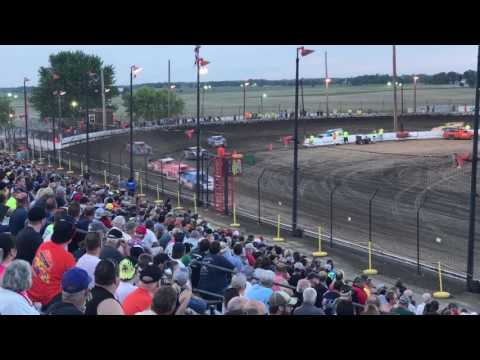 DIRTcar Summer Nationals Heat Race - Sycamore Speedway - 06/16/17