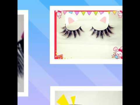 100% mink fur eyelashes,hot selling,custom packaging box ,private label