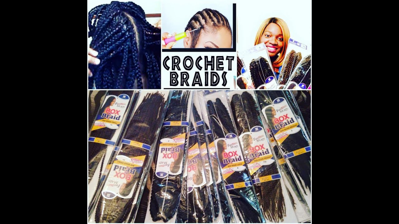 Freetress Crochet Box Braids : New! Freetress Equal Box Braid Crochet (Small,Medium,& Large ...