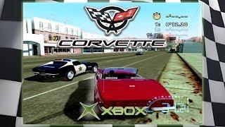 Corvette: Red Canyon Mountains East | 1968 Corvette Convertible | Original Xbox Game