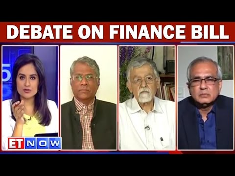 Debate On Finance Bill With  R. Jagannathan, Dr. Arvind Virmani & Rajiv Kumar