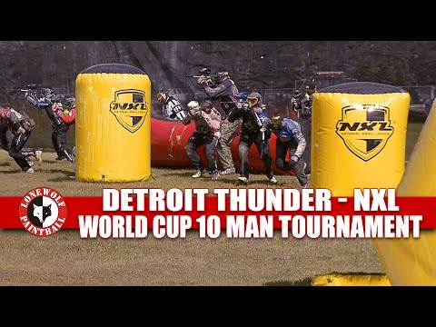 Detroit Thunder 10 Man Tournament Montage 2016 NXL World Cup