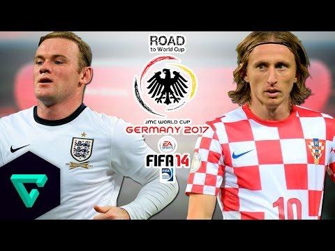 England vs. Croatia   UEFA   Road To World Cup Germany 2017   FIFA 14