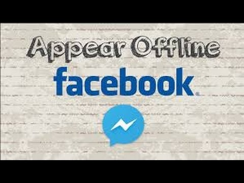 How To Appear Offline On Facebook - YouTube