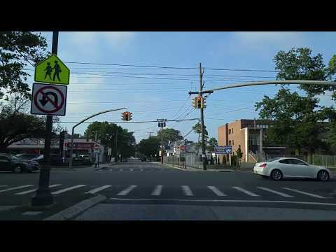 Driving from Lynbrook in Nassau to Hollis in Queens,New York