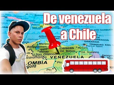 Cómo VIAJAR por tierra a CHILE desde VENEZUELA