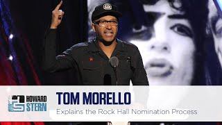Tom Morello on the Rock & Roll Hall of Fame and His Friendship with Ted Nugent