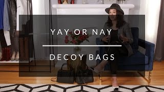 The Great Fake Debate: Fakes, Inspired By, and Designer Decoy Bags