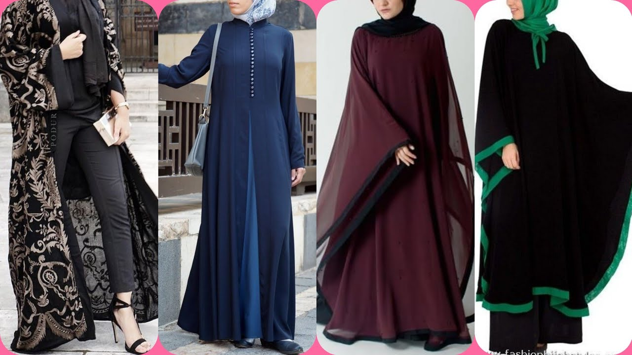 70+ New Stylish Abaya Designs CollectionGulf Abayas Designs/Latest Arabic Hijab Abaya Fashion