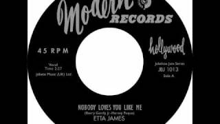 Watch Etta James Nobody Loves You Like Me video