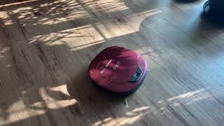 LG전자 로보킹 터보 로봇청소기 R46RIM 청소 마감…