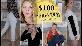 What $100 Buys You at FOREVER 21 Haul & Try On | skip2mylou