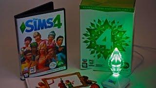 Распаковка/Unboxing Коллекционное издание The Sims 4