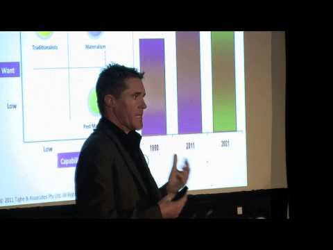 TEDxDarwin - Steve Tighe - Our Post Materialistic Future