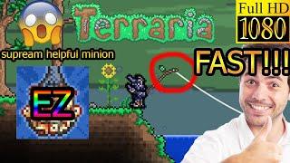 TERRARIA 1.3 HOW 2 200 FISΗING QUEST[Supreme Helper Minion Achievement] EZ and FAST!!![NOCLICKBAIT]
