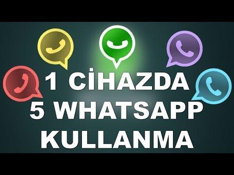 Telefona Birden Fazla Whatsapp Kurmak
