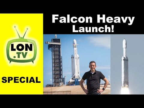 SpaceX Falcon Heavy Launch Experience! Launch & Pad Tour : Real Launch Sound!