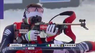 Biathlon World Cup 1 (2015-2016) - Men's 10km Sprint race