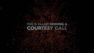 Download Thousand Foot Krutch - Courtesy Call (Lyric Video)